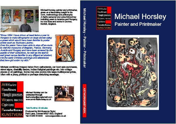 MICHAEL HORSLEY - Painter and Printmaker