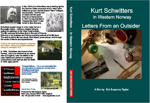 KURT SCHWITTERS In Western Norway